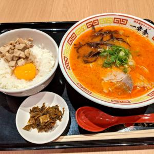 歯切れのよい麺にピリッと辛いスープがうまい!【博多屋台ラーメン 一幸舎】