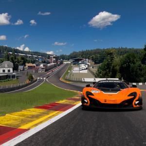 【GTsport】親父杯レース3 スパフランコルシャン攻略について