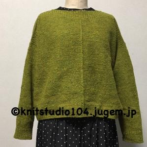 棒針編みでセーター1枚編むのに、何時間かかる?