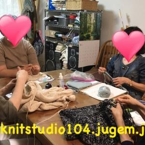 【お知らせ】2021年7月ニットスタジオ104編み物教室開催スケジュール