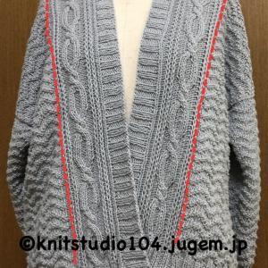 引き返し編みって凄い!ずっと欲しかったシルエットの帽子が編めました♪