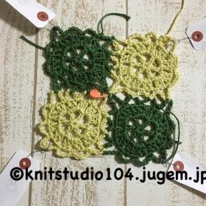課題で提出する編地には、どんな毛糸を使ったらよいですか?