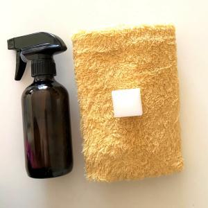【簡単3ステップ】壁紙の汚れはセスキ炭酸ソーダとメラミンスポンジできれいに!