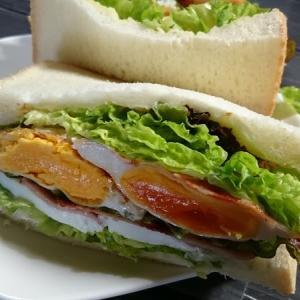 おひとりさま節約自炊ランチ サンドイッチ編