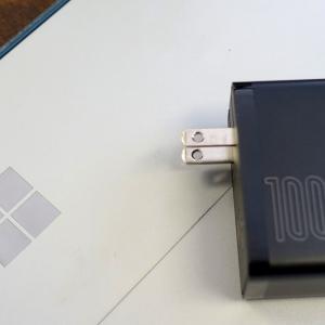 世界初のQC5.0に対応した急速充電器「Baseus GaN2 Fast Charger」レビュー|最大100Wの高出力なのに持ち運びやすいコンパクトさが魅力的