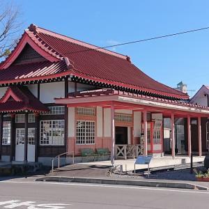 旧北軽井沢駅舎周辺はレトロで優しい場所でした