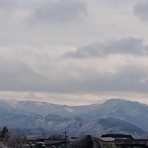 雪景色の休日、キャラメル胡桃タルト添え