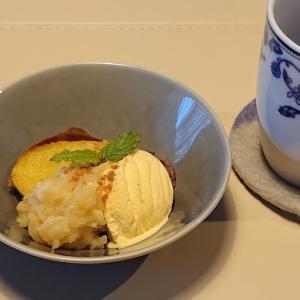 雪籠りの日のお楽しみ~薪ストーブで焼き芋スイーツ