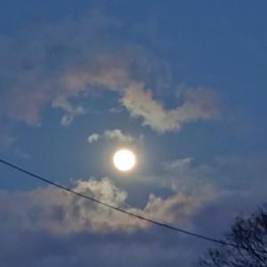 降ったり晴れたり凍ったり~そして月夜