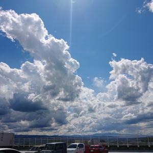 街の空、山の空~今日の空から