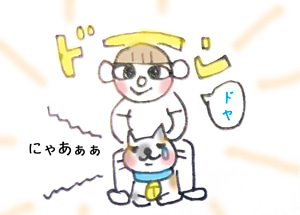 猫のストレスフルな毎日〜お届けモノ