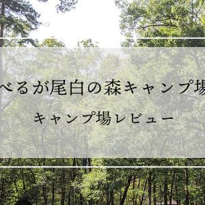 べるが尾白の森キャンプ場はファミリーには最高のキャンプ場!