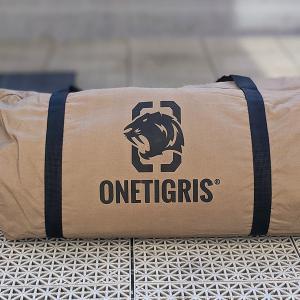 【OneTigris スーパーシェルターTC 試し張り】設営10分で快適な自宅キャンプ環境が完成します