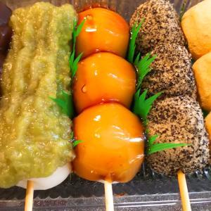 イオン上磯店の催事で広島焼きと串団子買いました