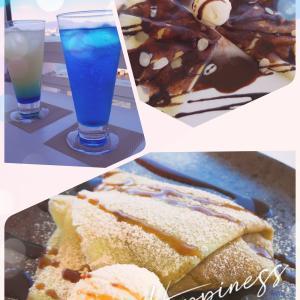 「カフェ海と硝子」函館の海を満喫できるカフェ
