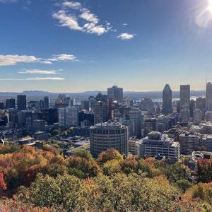 モントリオール初めての秋