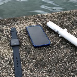 釣りの写真・動画撮影にはAppleWatch+iPhone12がいいんじゃね?っていうお話