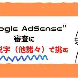 Google AdSenseの審査で軽く実験してみた話
