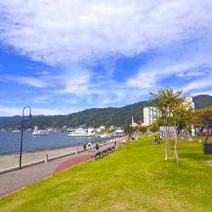 自転車旅行(浜松→函館) その2 ~諏訪湖~