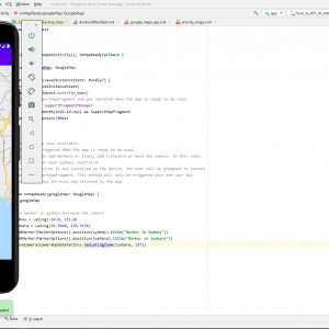 #1 Google Map APIでアプリ開発(編集中)