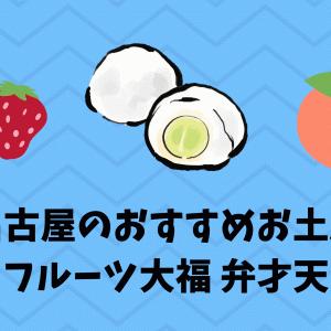 名古屋のおすすめお土産 フルーツ大福買ってきた