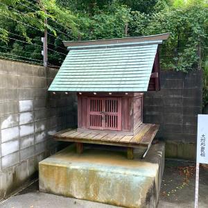 菖蒲沼の面影:淵野辺の弁天神社