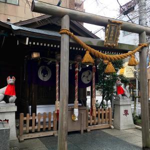 日本橋・茶ノ木神社と表参道・秋葉神社