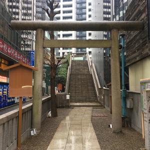 宮益御嶽神社は渋谷駅の近くに