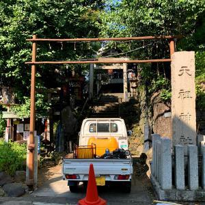 元神明宮(天祖神社)と銀杏大明神