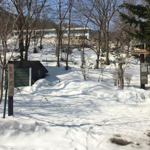 スカディ神、ウル神、ブランデージ神を祀る札幌藻岩山スキー神社