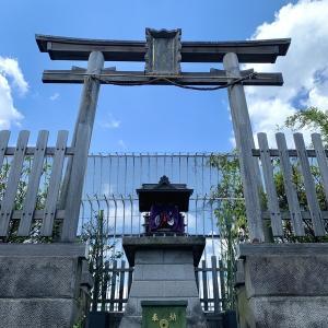 新宿の小田急百貨店の豊川稲荷