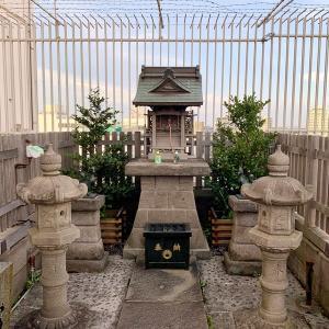 町田の小田急百貨店の豊川稲荷