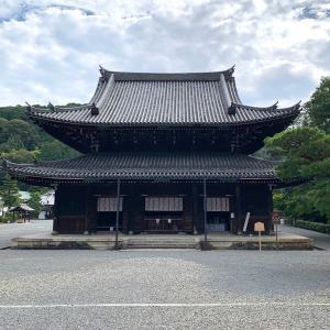 泉涌寺仏殿と楊貴妃観音堂と鎮守社