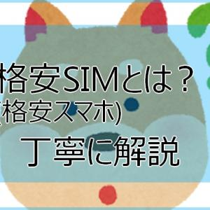 格安SIM(格安スマホ)初心者へ丁寧な解説!格安SIMとは?