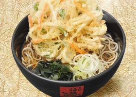 箱根そばの『かき揚げ天そば』を安くそしてカロリーを抑えて食べる方法。というはなし。