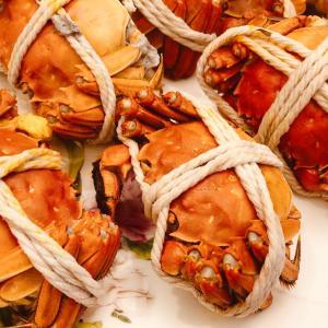 大閘蟹(上海蟹)のシーズン到来❗️