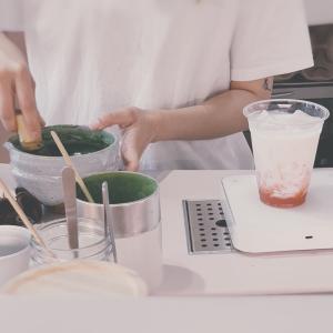 香港・「Matchali」抹茶ドリンクの専門店
