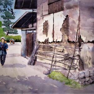 唱歌「ふるさと」高野辰之の故郷を描く:07