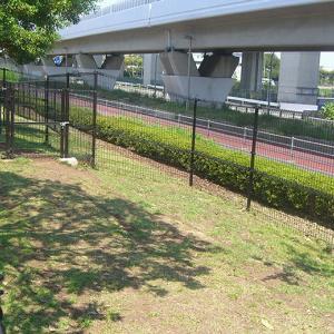 神奈川県横浜市にある 新杉田公園ドッグラン