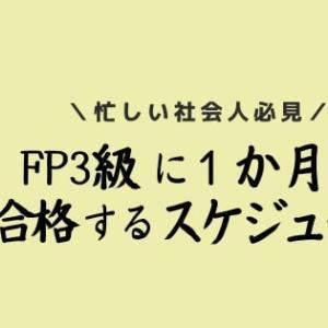 【まだ間に合う!】1か月短期間でFP3級に合格する方法