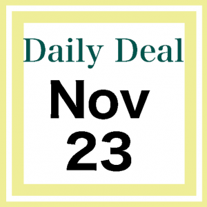 Daily Deal 11/23/20
