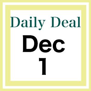 Daily Deal 12/1/20 Cyber Deals