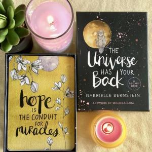 【月曜日のあなたへ】hope is THE CONDUIT FOR miracles / 希望から奇跡