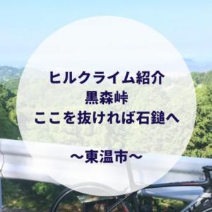 【黒森峠に挑戦】石鎚ヒルクライムコースへ続く峠!!(愛媛ヒルクライム)