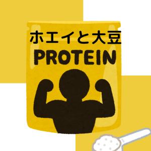 【在宅】【筋トレ】ホエイVS大豆 効果に違いはあるのかご紹介