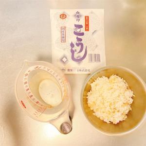 【発酵生活】お米と米麹で作った甘酒が美味しい!!飲みやすい!!