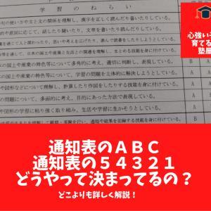 [新通知表]中学校の通知表、ABCのナゾ、5段階のナゾに迫る