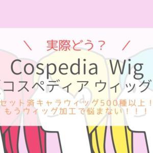 Cospedia Wigの口コミ!セット済ウィッグでキャラ再現性UP!