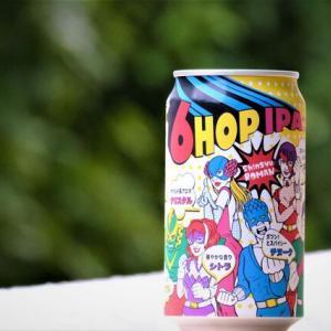 【飲んでみた】ホップが旨いクラフトビール「信州浪漫6HOP IPA」