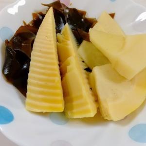 1食200円の節約レシピ!旬の筍を使った「若竹煮」と2色丼!